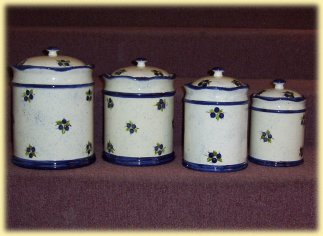 Blueberry Canisters