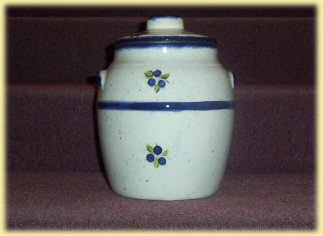 Superieur Blueberry Cookie Jar